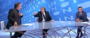 Brunetta litiga in tv con Telese e Parenzo: «Voi fate il gioco degli scafisti!» (video)