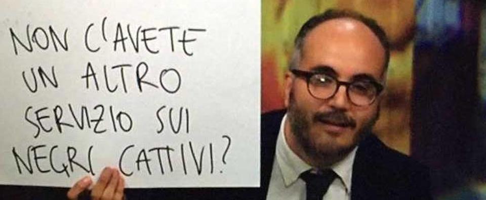 """Dopo Saviano, arriva Raimo. Paladino dei neri contro i """"razzisti"""" Belpietro e Sallusti"""