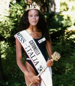 Denny Mendez, miss Italia 1996