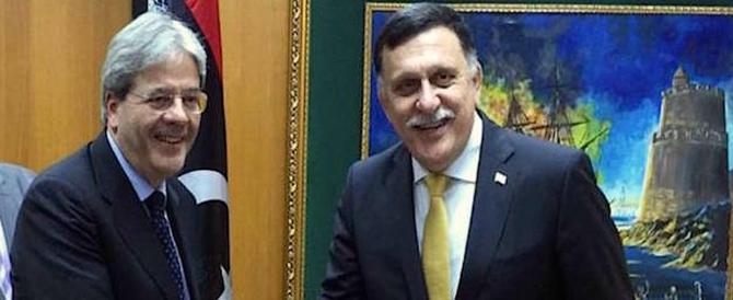 """Voltafaccia dell'amico dell'Italia al Serraj: """"Non entrate nel mare libico"""""""
