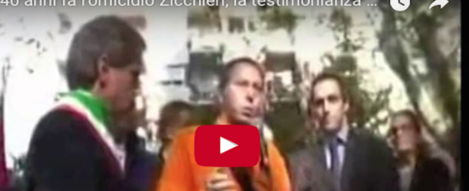 Addio a Marco Luchetti: rimase ferito appena 15enne nell'attentato a Zicchieri (video)