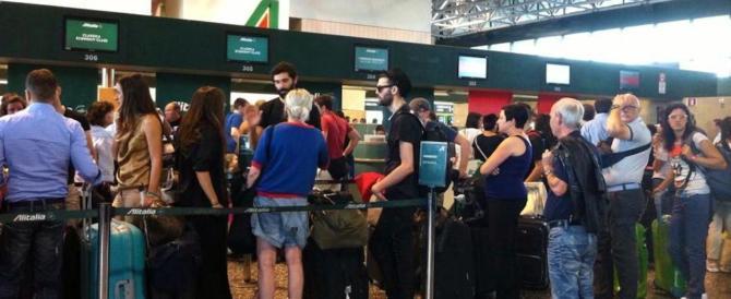 Delirio a Linate e a Malpensa: sciopero selvaggio senza preavviso: è caos