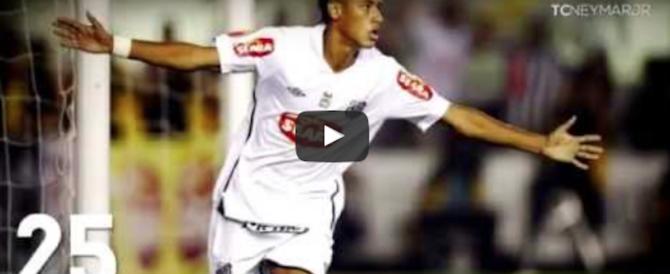Neymar al Psg, il colpo del secolo è fatto: 222 milioni. I suoi gol più belli (video)