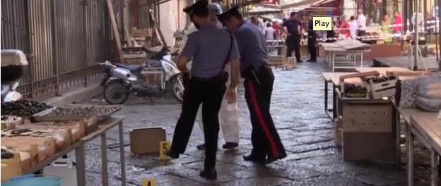 Palermo, omicidio di mafia accanto al Tribunale, preso il killer mentre fugge