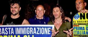 Povia posa con i militanti di Fratelli d'Italia e fa infuriare i webeti (video)