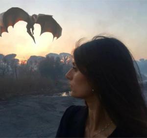 Persino davanti ai draghi Raggi avrebbe la stessa aria sognante?