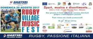 """Rugby, tutto pronto a Milazzo per il """"Village Music Fest"""""""