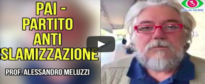 Per il partito anti-Islam di Meluzzi un milione di visualizzazioni sul web (video)