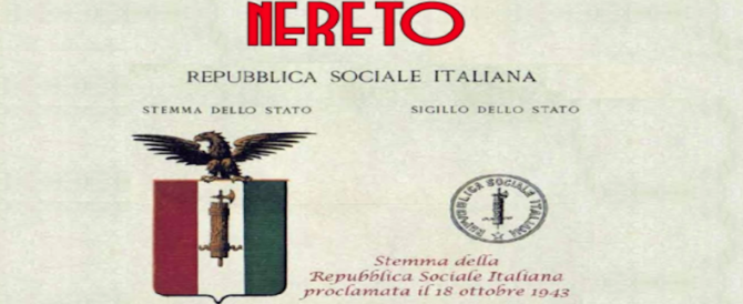 Choc a Nereto! Si presenta un libro sulla Rsi! Antifascisti d'Italia in lutto!