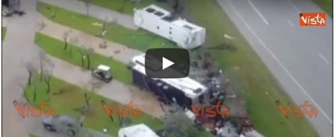 Texas, sono 37 le vittime di Harvey. 2 esplosioni in un impianto chimico (VIDEO)