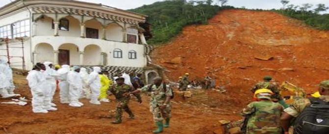 Sierra Leone, almeno 400 morti e 600 dispersi per le inondazioni