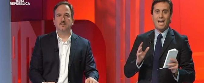 """Socci furioso con Parenzo e Telese: """"I comunisti hanno sempre le stesse mutande"""""""