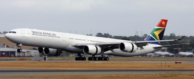 Caso-Mugabe, lo Zimbabwe non fa decollare aereo sudafricano
