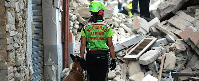 Emergenza terremoti, nella prossima manovra il pacchetto di misure antisismiche