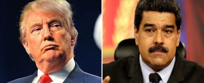 """""""Basta con la dittatura comunista in Venezuela"""": Trump scende in campo"""