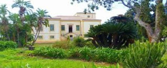 Incendi: Rogo a Villa Piccolo nel messinese, possibile matrice dolosa