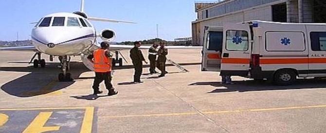 Falcon dell'Aeronautica salva bimbo in pericolo di vita: trasportato d'urgenza a Roma