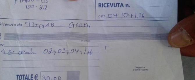 Via Curtatone, Rampelli: ecco le ricevute degli affitti riscossi dagli okkupanti (video)