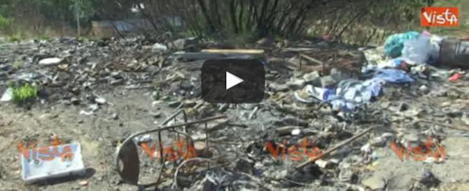 """Centocelle """"nightmare"""": a Roma il parco da incubo, tra rom e rifiuti (video)"""