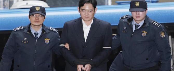 Corruzione, condannato a 5 anni di carcere l'erede dell'impero Samsung