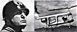 Se Mussolini avesse ascoltato D'Ascanio: concepì elicottero e droni