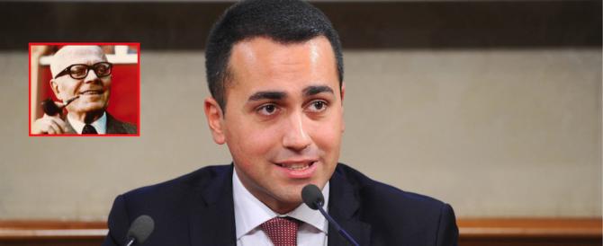 Di Maio cambia di nuovo idea: non si ispira più ad Almirante ma a Pertini…