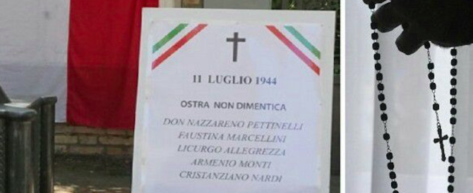 Sindaco del Pd prega per i fascisti uccisi, i partigiani di Ancona insorgono
