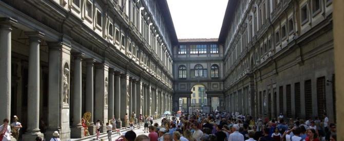 La Galleria degli Uffizi chiude i battenti: manca l'aria condizionata