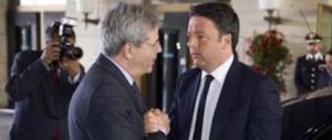 Bankitalia, alta tensione tra Renzi e Gentiloni: il Pd contro il suo governo