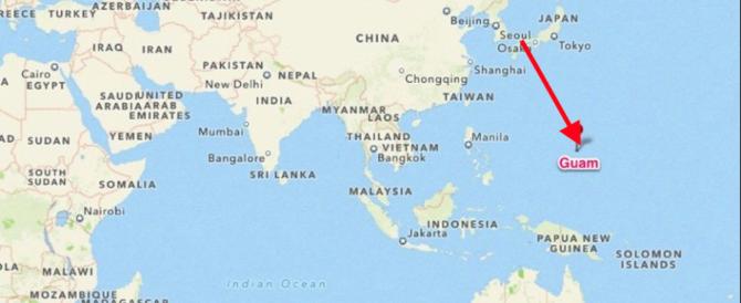 La Corea del Nord ha deciso: vuole lanciare la bomba sull'isola americana di Guam