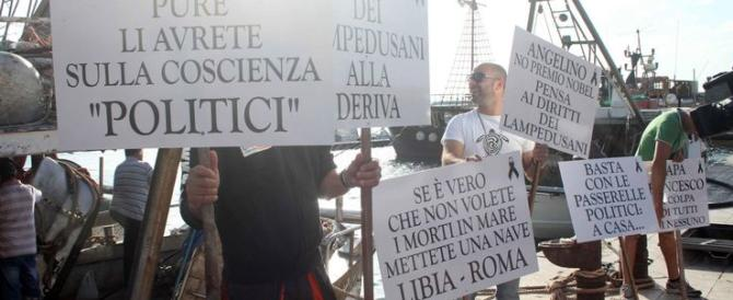 """Lampedusa, lite sui migranti tra sindaco e parroco. """"Molesti"""". """"No, utili"""""""