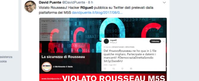 M5s, Rousseau hackerato di nuovo. In rete anche i dati sui finanziamenti