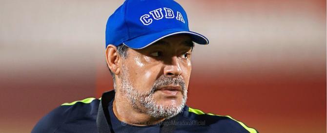 """Maradona alla corte di Maduro nel nome di Chavez: """"Pronto alla lotta"""""""