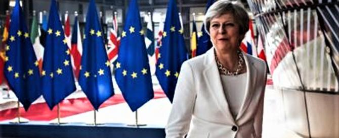 """Brexit, la May: in un """"libro bianco"""" il futuro dei nostri rapporti con la Ue"""