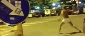 Firenze, lancia sassi contro ristorante. Migrante inseguito e pestato (VIDEO)