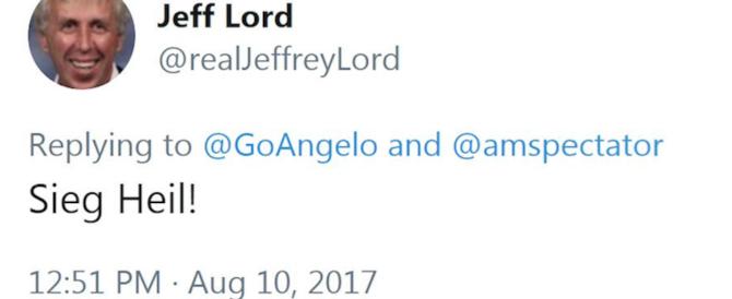 Posta per scherzo il saluto nazista, licenziato giornalista della Cnn vicino a Trump