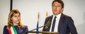 Giusy NIcolini con Renzi