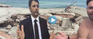 """Renzi """"cartonato"""" a Castel Volturno, regno dei clandestini. """"Vieni?"""". Il video è da ridere"""