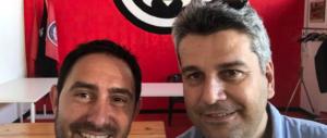 Il selfie del dirigente Pd nella sede di CasaPound diventa un caso politico