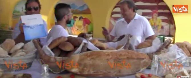 La risposta alla siccità arriva da Napoli: pane fatto con acqua di mare (video)