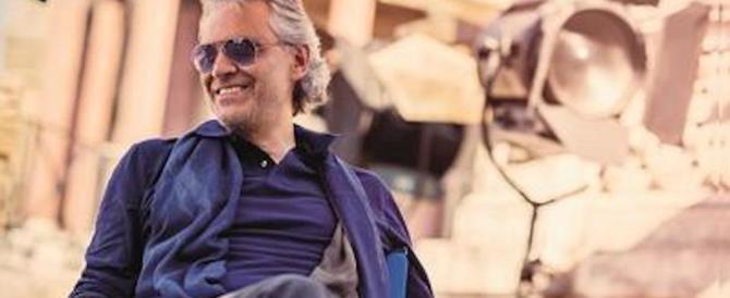 Paura per Andrea Bocelli: cade da cavallo, ricoverato in ospedale