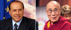 """""""Russia nella Ue, Nato a Mosca"""": e il Dalai Lama parlò come Berlusconi"""