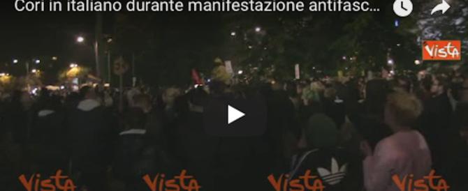 """«Siamo tutti antifascisti»: toh, in piazza a Berlino i """"compagni"""" italiani (video)"""