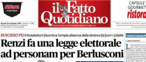 """È proprio vero: """"il Fatto"""" ha in Silvio Berlusconi la sua polizza di lunga vita"""