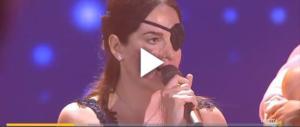 Commovente Gessica Notaro a Miss Italia: l'acido non ha sfregiato la forza d'animo (VIDEO)