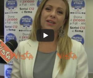 La Meloni avvisa Berlusconi e Salvini: «Per la leadership ci sono anche io» (video)