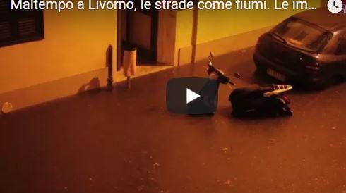 Maltempo, Livorno in ginocchio: 7 morti, 1 disperso. Nonno salva la nipotina e muore (3 Video)