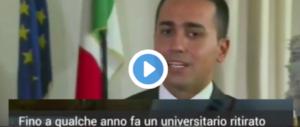 """Bbc intervista Di Maio, """"inesperto e senza laurea"""". E lui evita l'inglese… (video)"""