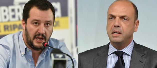 Alfano: «Salvini voleva i bus separati per i siciliani». E lui: «Ti querelo»