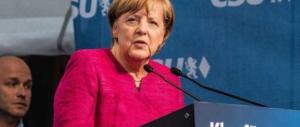 Germania, exit poll: la Merkel vince malissimo (-8%). Vola la destra di AfD: 13%